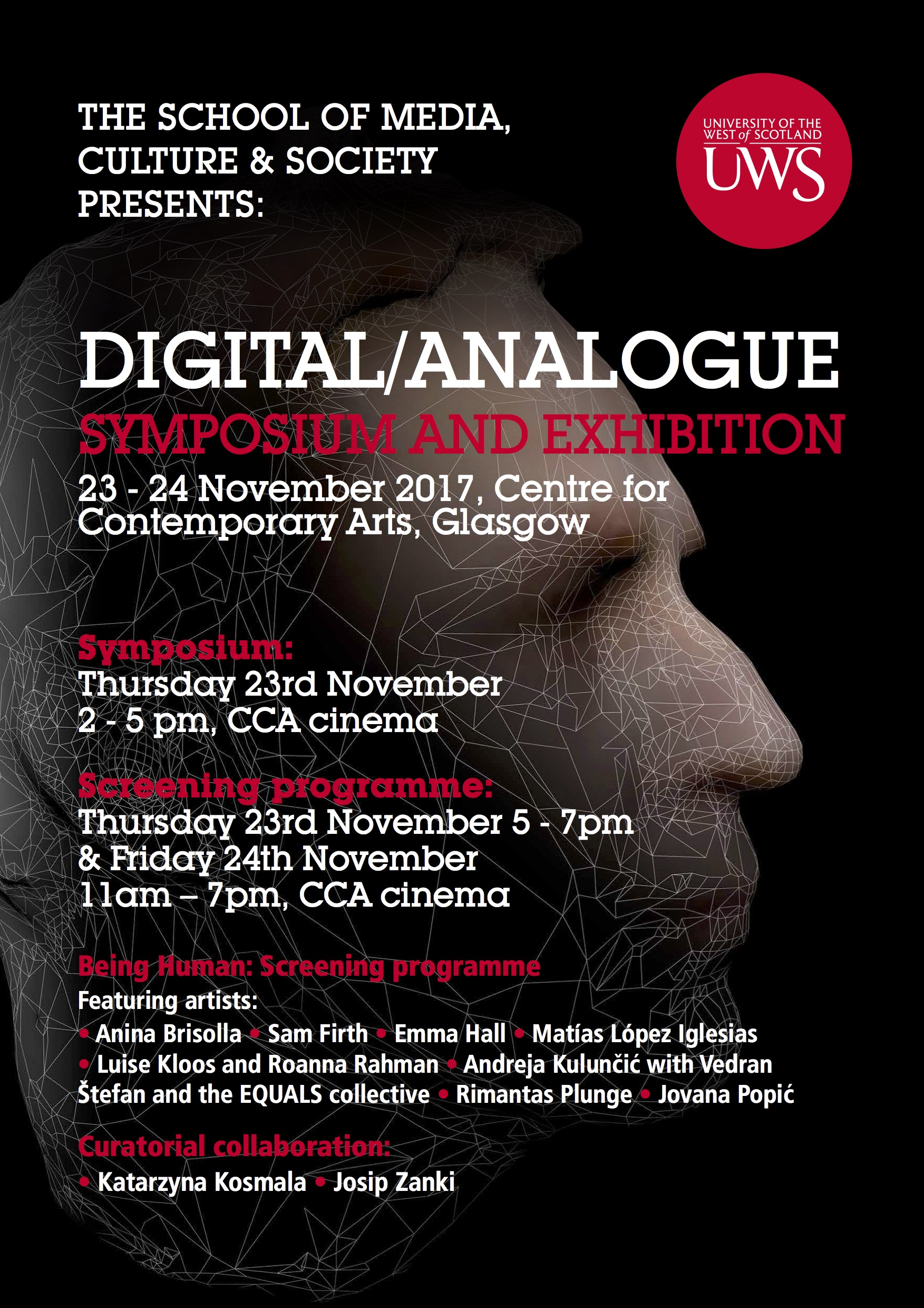 Digital Analogue A3 Poster Web